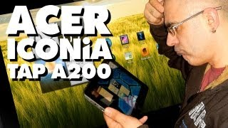 ACER Iconia TAB A200 - TABLET-PC (Unboxing + kurzes noob Review)
