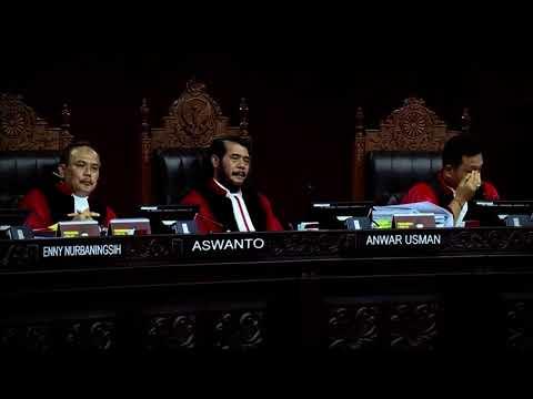 [LIVE] BREAKING NEWS - Sidang Ketiga Sengketa Hasil Pilpres 2019