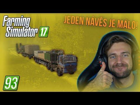 JEDEN NÁVĚS JE MÁLO! | Farming Simulator 17 #93