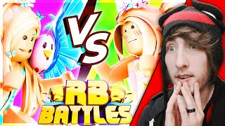 BRIANNAGAMEZ VS IAMSANNA! [Reaction] Roblox RB Battles Championship