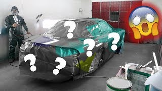 REVEALING THE FD RX-7's BRAND NEW PAINT JOB!! **YOU HAVE TO SEE THIS!!**