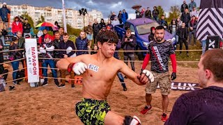 АЗИАТСКИЙ МОЛОТ 7 побед подряд в боях без правил !!!!