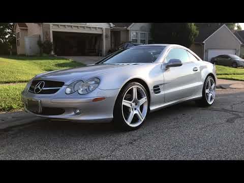 "Mercedes Benz SL500 R230 20"" AMG Wheels 2003 ABC Coilovers"