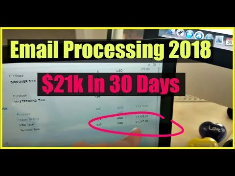 How To Make Money Online Fast With Email Processing! Work From Home Online 2017 & 2018