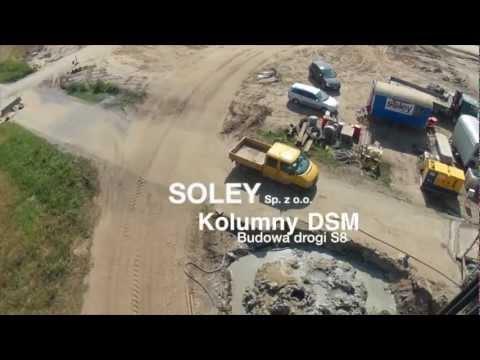 SOLEY sp. z o.o. - Kolumny DSM, budowa drogi S8