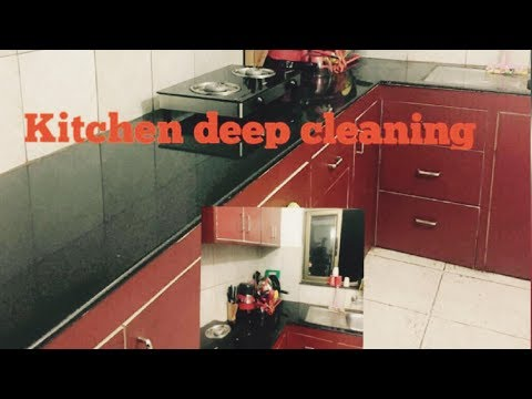 DIY Kitchen Deep Cleaning Methods | Night Kitchen Cleaning| Manisha Pranay