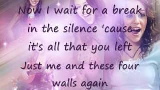 These Four Walls - Instrumental/ Karaoke with lyrics