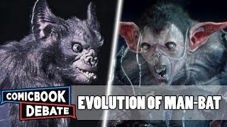 Evolution of Man-Bat in All Media in 12 Minutes (2018)