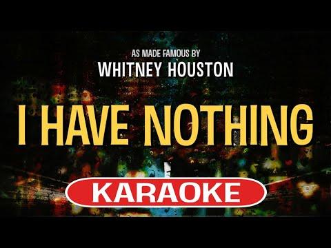 I Have Nothing (Karaoke Version) - Whitney Houston   TracksPlanet