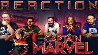 Captain Marvel - Official Trailer REACTION!!