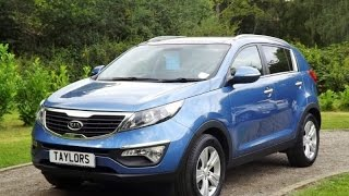 preview picture of video 'Kia Sportage Crdi 2 now sold by Taylors Pitstop Garage in Horley West Sussex'