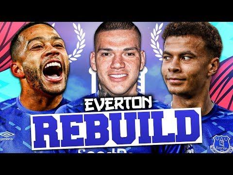 REBUILDING EVERTON!!! FIFA 20 Career Mode