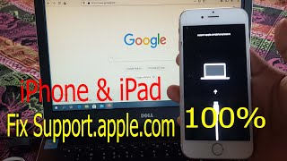 How To Fix Support.apple.com || iPhone & iPad how to Get Out of Recovery Mode ( NO DATA LOSS)