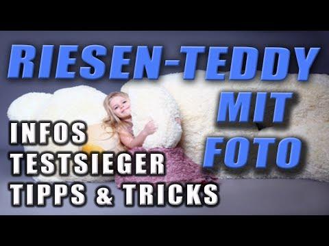 Riesen Teddy mit Foto | Infos, Tipps und Testsieger | Riesen-Teddy.com