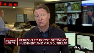 Verizon CEO Hans Vestberg on the company's new network investment
