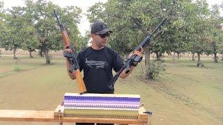 AK47 VS AR15 VS PHONE BOOKS  762 VS 556