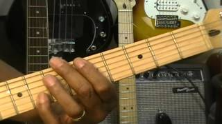 "How To Play ""The Theme From Shaft"" Isaac Hayes On Guitar FunkGuitarGuru EricBlackmonMusic"