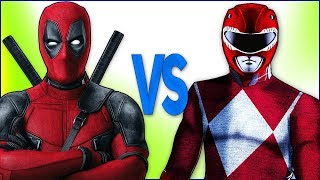 РЕЙНДЖЕРЫ VS ДЭДПУЛ | СУПЕР РЭП БИТВА | Power Red Rangers samurai ПРОТИВ Deadpool 2 Film