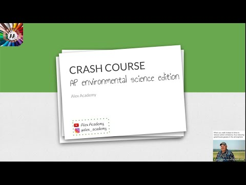 CRASH COURSE: AP Environmental Science Exam Cram (Part 1 ...
