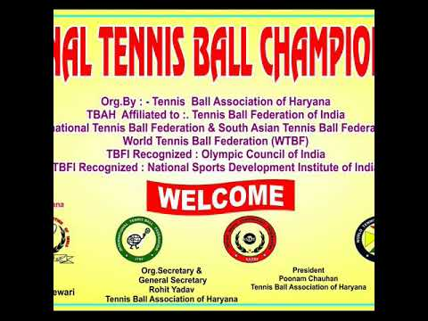 1st NATIONAL TENNIS BALL CHAMPIONSHIP 2017
