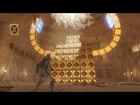 See 9 minutes of gameplay from NieR Replicant ver.1.22474487139…'s Barren Temple