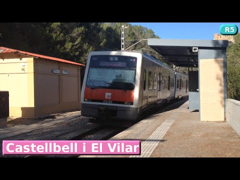 Castellbell i El Vilar R5 : FGC Barcelona ( UT 213 )