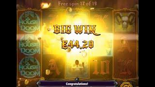 BIGWIN! x152  House of Doom от Play'n Go 🔥РОЗЫГРЫШ🔥