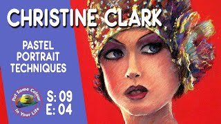 Fine art tips on How to do Pastel Portraits with Christine Clark on Colour In Your Life