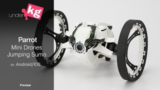 Parrot Jumping Sumo Preview [4K]