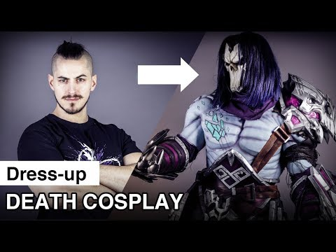Death Cosplay Dress-up | Cosplay Transformation | Darksiders 3