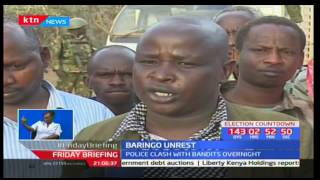 Presidents of Mukutani in Baringo south are being evicted after constant bandit invasion