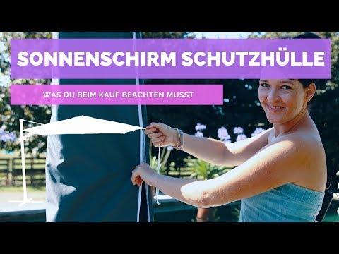 ☼ Sonnenschirm Schutzhülle – Das musst du wissen | Garten-und-Freizeit