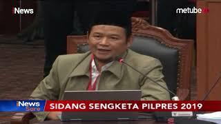 Momen Saksi BPN Prabowo-Sandi Bingung saat Ditanya Hakim Mahkamah Konstitusi - iNews Sore 19/06