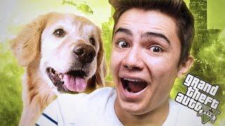 GTA 5 GERÇEK HAYAT ! - Yeni  Dostumuz MAX! #4 (Haydar'ın Hayatı!)