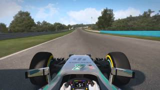 F1 2014 Hungaroring Hot Lap TT All Assist Off