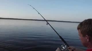 Рыбалка на озеро копанское