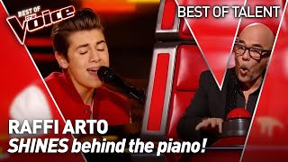 Teenage pianist-singer WUNDERKIND stuns the Coaches in The Voice