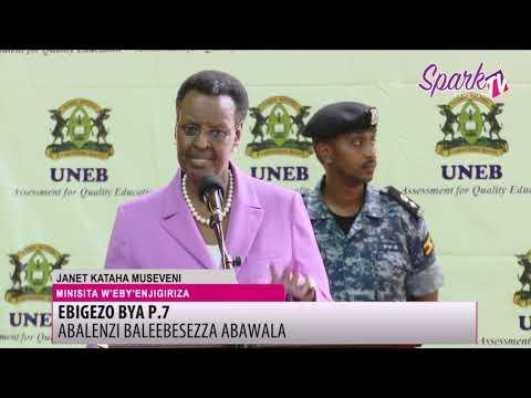 Janet Museveni alabude abasomesa ababbira abayizi ebigezo