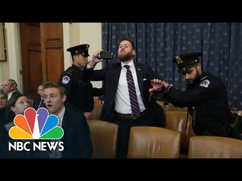 Protester Interrupts Nadler Opening Statement: 'We Voted For Donald Trump!'   NBC News