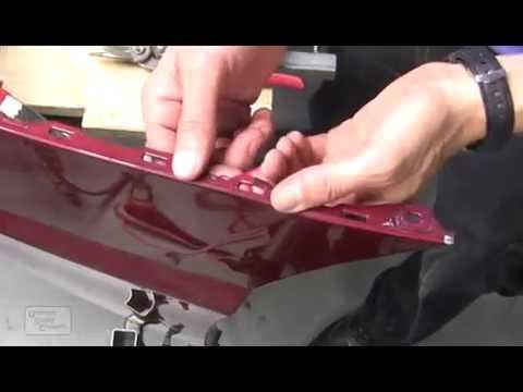 Восстановление крепежа бампера 2