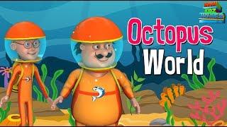 Motu Patlu In Octopus World - Full Movie | Animated Movies |  Wow Kidz Movies