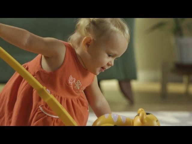 Развивающая игрушка-каталка - ТИГРЕНОК