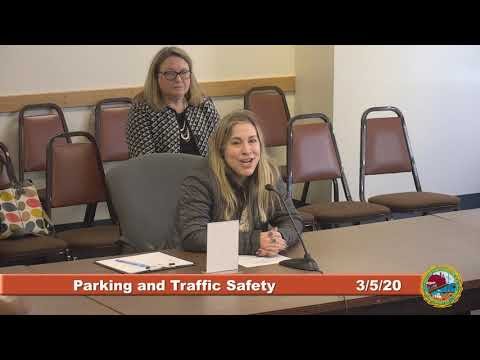 Parking Traffic and Safety 3/5/20