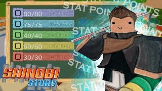 ROBLOX- Shinobi Story Full Guide (Controls, Skills, Stats, Tips And