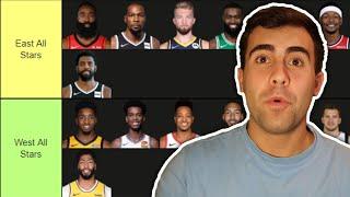 NAMING THE 2021 NBA ALL STARS | TIER LIST