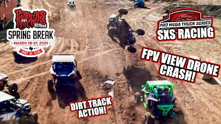 FULL ON SXS RACING! RWP Spring Break 2021 Pro Mega Truck Series SXS Race Highlights