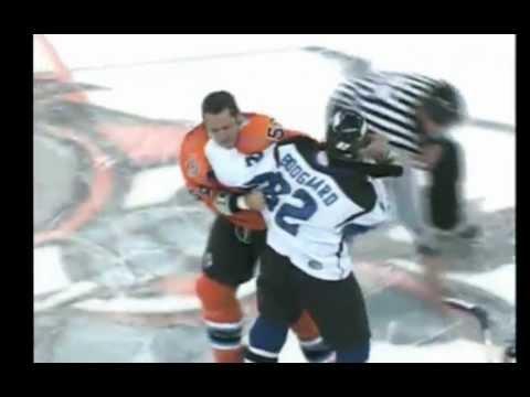 Riley Emmerson vs. Aaron Boogaard