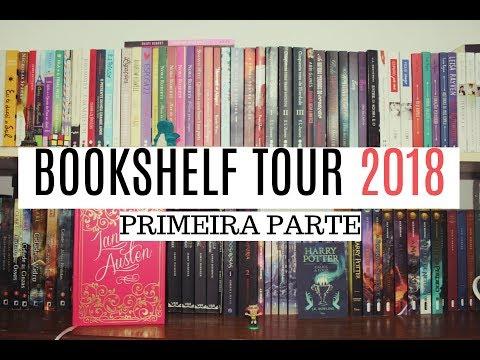 BOOKSHELF TOUR 2018 (Primeira parte) | por Sibelly Maria