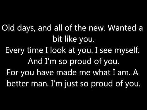 Alain Clark - Father & Friend *lyrics*