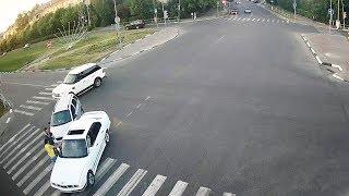 ДТП в Серпухове. Белые встретились на Коварном перекрёстке... 25 июня 2018г.